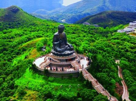 Situé à Hong kong, en Chine